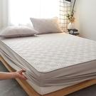 純棉床笠單件夾棉加厚席夢思床墊保護罩防滑固定防塵床套床罩定制 雙十二購物節