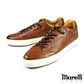 【Marelli】時尚潮流休閒鞋 棕色(2527-TAN)