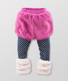 Hallmark Babies 秋日系列假兩件連褲短褲 (連腳套) HC3-Y06-06-KG-NP