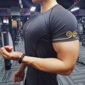 【全館】現折200健身衣教練運動肌肉籃球緊身衣速干健身服中秋佳節