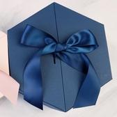 正六邊形六角禮品盒超大號