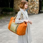 折疊輕便簡約大容量短途行李手提包PLL4959【男人與流行】