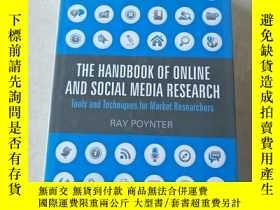 二手書博民逛書店The罕見Handbook Of Online And Social Media ResearchY44709