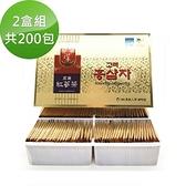 【韓國高麗】養生紅蔘茶包(2盒組;共200包)