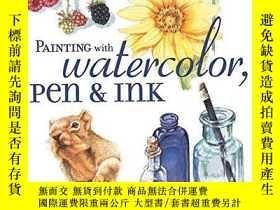 二手書博民逛書店Painting罕見With Watercolour, Pen And InkY256260 Nice, Cl