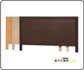 {{ 海中天休閒傢俱廣場 }} F-08 摩登時尚 臥室系列 63601 巧克力6尺床片