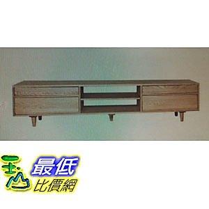 [COSCO代購] W111138 優渥實木梣木系列四抽造型長型收納櫃