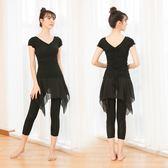 拉丁舞服裝女成人新款套裝形體舞蹈服民族