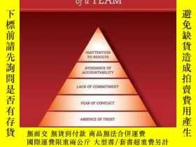 二手書博民逛書店The罕見Five Dysfunctions of a Team: Poster, 2nd EditionY4