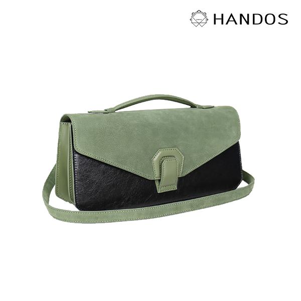 HANDOS Melodica 二層風琴肩背包 - 抹茶綠 ↘76折