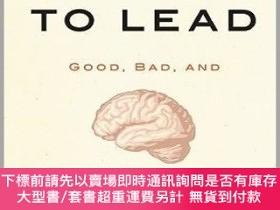 二手書博民逛書店預訂Driven罕見To Lead: Good, Bad, And Misguided LeadershipY