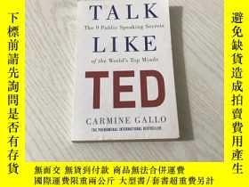 二手書博民逛書店talk罕見like tedY20850 Carmine Gallo Pan Macmillan UK 出版
