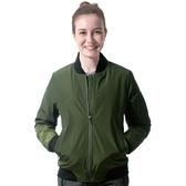 【Takaka】女 保暖飛行棉外套『軍綠』H85616 簡約立領 夾克 棒球外套 運動外套 防潑水 防風
