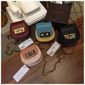 馬鞍包新加坡限定夏季新款mini小ck小豬包鏈條零錢包女馬鞍包珍珠包代購 非凡小鋪
