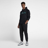 Nike JORDAN 黑蒂綠 刷毛 長袖 帽T AV6006-010【Speedkobe】