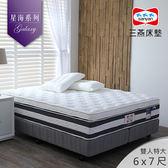 璀璨星空 Starry Night / 6x7 / 雙膠蜂巢式獨立筒彈簧床 / 星海系列 / 三燕床墊