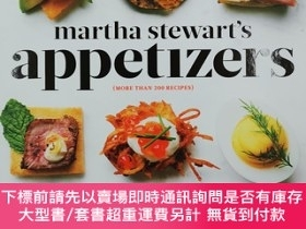 二手書博民逛書店Martha罕見Stewart s Appetizers: 200 Recipes for Dips, Sprea