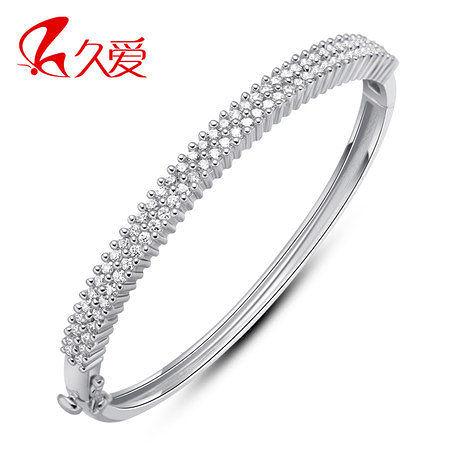 銀手鐲女時尚 光的承諾