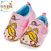 《布布童鞋》Disney迪士尼塗鴉Q公主粉紅寶寶休閒鞋(13~15公分) [ D9W812G ]