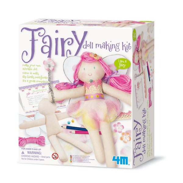 【4M】美勞創作系列-花精靈 Fairy Doll Making Kit 00-02732