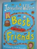 【書寶二手書T3/原文小說_LLJ】Best Friends_Jacqueline Wilson