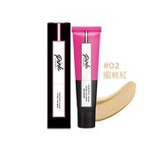 Pink by Pure Beauty 給你完美膚色飾底乳 #02 蜜桃紅 30ml