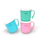台灣 VIIDA Soufflé 抗菌不鏽鋼杯 附矽膠上蓋 學習杯 0053 好娃娃