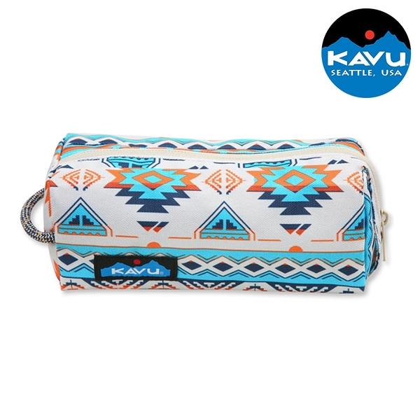 【KAVU】時尚休閒小袋 Pixie Pouch 9011 地平線領域 / 城市綠洲 (盥洗包 化妝包 手拿包 收納包 美國)