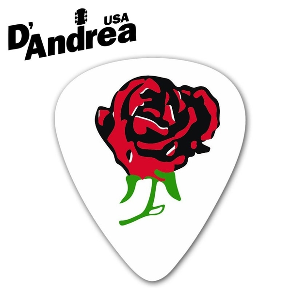 小叮噹的店- PICK 彈片 美國 D Andrea Ace Rose RRO351 兩種規格