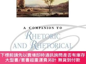 二手書博民逛書店A罕見Companion To Rhetoric And Rhetorical CriticismY25517