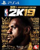 (滿單)預購2018/9/7 PS4 美國職業籃球 NBA 2K19 20 週年紀念版 中文版