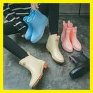 雨鞋女中筒雨靴成人防水套鞋韓國防滑...