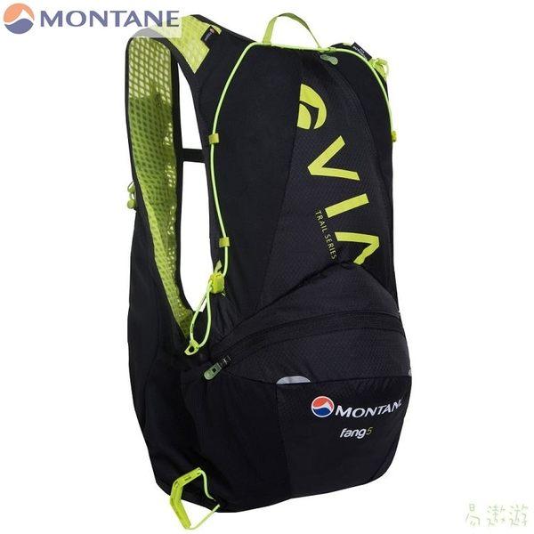 Montane 英國 VIF透氣野跑背心背包5升-抗菌 M/L 黑 PFAN5BLA 路跑 輕量 健行 馬拉松 [易遨遊]