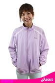 亞瑟士ASICS 女 抗UV涼感風衣外套(淺紫/L號) 運動外套