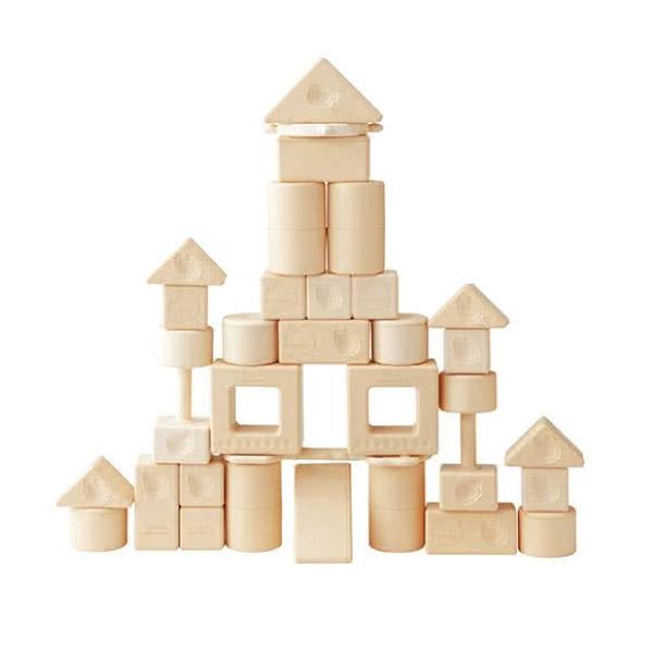 日本People 新米的積木組合(米製品玩具系列)