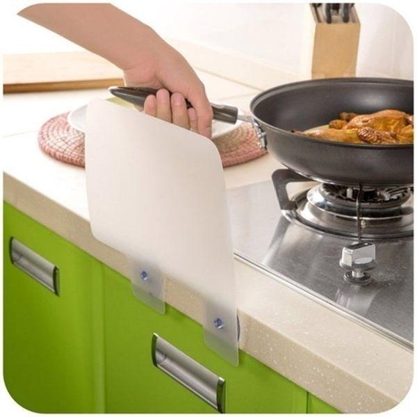 居家熱銷 附吸盤防濺水擋板 水池隔水板 水槽擋水板 【L127】慢思行