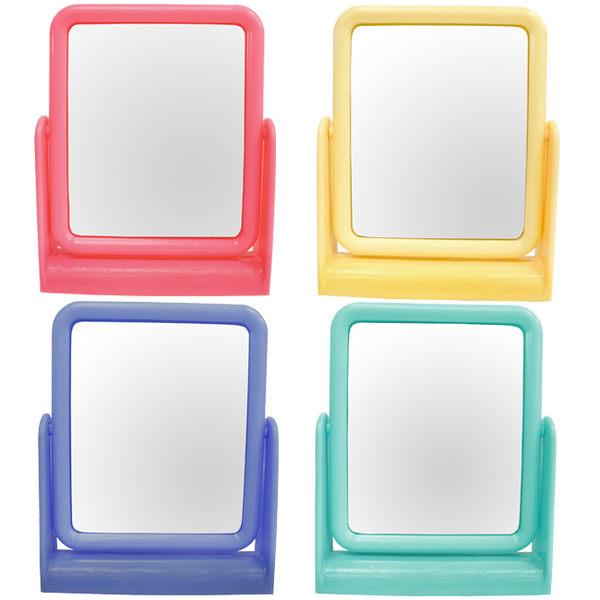 粉彩 方型立鏡 1入~不挑色隨機出貨