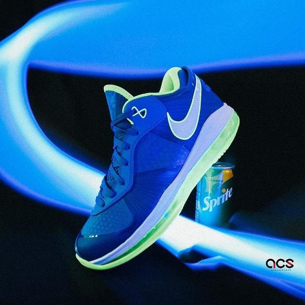 Nike 籃球鞋 Lebron VIII V/2 Low Sprite 雪碧 8代 男鞋 【ACS】 DN1581-400