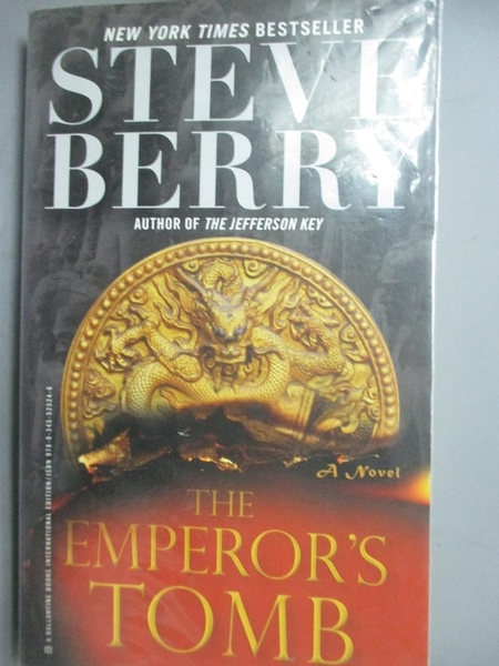 【書寶二手書T4/原文小說_LJF】The Emperor s Tomb_Steve Berry