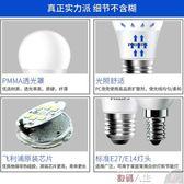 led燈泡e27螺口小球泡12W節能燈泡螺旋家用超亮照明燈 數碼人生