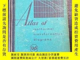二手書博民逛書店AILas罕見ofisothermal transformation diagramsY292946 請看圖片