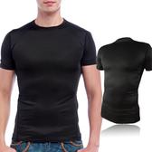 排汗衣-男款彈力緊致超合身(C2511 黑色)-戶外趣