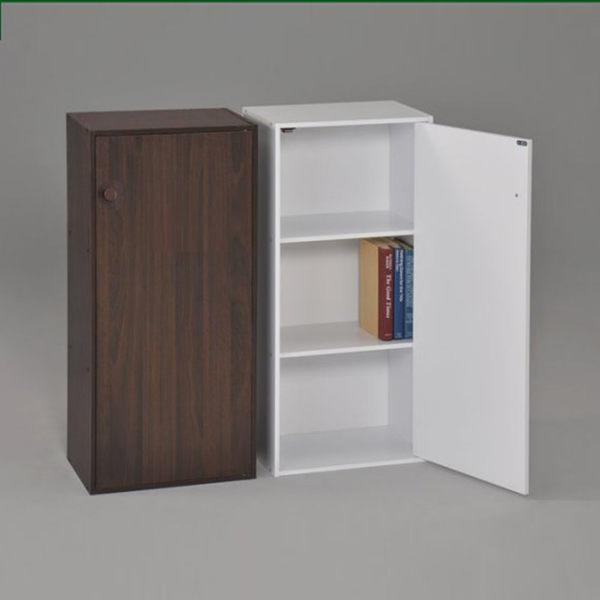 ONE HOUSE-DIY-日式三格一門書櫃/組合櫃/收納櫃/置物櫃/高低櫃/展示櫃
