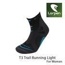 Lorpen T3 女運動慢跑襪 X3LW/城市綠洲(吸濕排汗、快乾涼爽、柔軟舒適、萊卡、彈性耐用、西班牙)