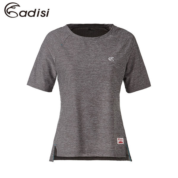 ADISI 女五分袖圓領透氣排汗衣AL1711120 (S~XL) / 城市綠洲專賣(浪花洞洞、吸濕快乾、輕薄柔軟、排汗)
