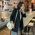 外套 新款純色韓版小西裝外套女休閒寬鬆上衣氣質小香風春款西服潮