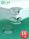 桌角防撞護角硅膠透明包角轉角保護套櫃子防磕碰直角家具邊角包邊 夢幻小鎮