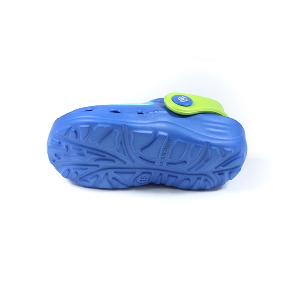 POLI 波力 救援小英雄 涼鞋 花園鞋 藍/綠 中童 童鞋 POKG10606 no761