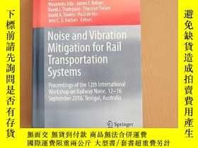 二手書博民逛書店Noise罕見and Vibration Mitigation for Rail Transportation S