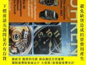 二手書博民逛書店Uhren罕見(Magazine )2007手錶鐘錶德語原版德文